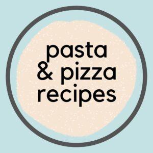 Easy Vegan Pasta & Pizza Recipes