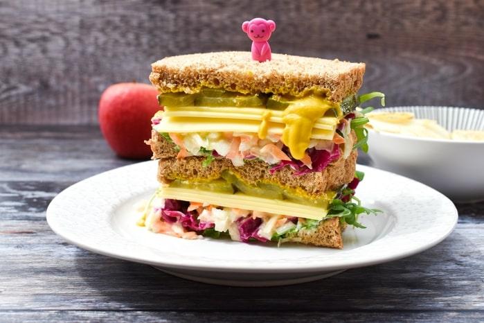 Vegan New York Deli Sandwich