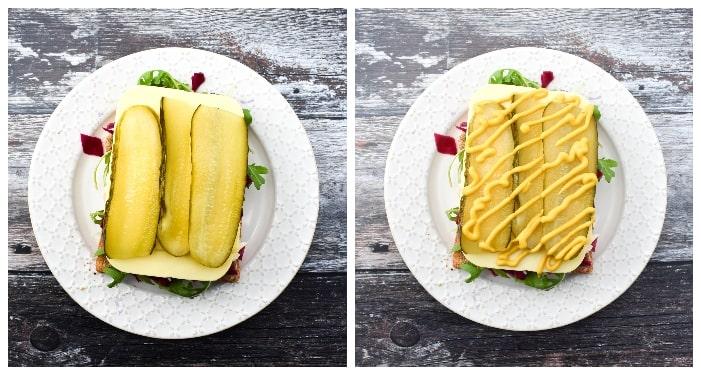 Vegan New York Deli Sandwich - step 3