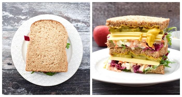 Vegan New York Deli Sandwich - step 4