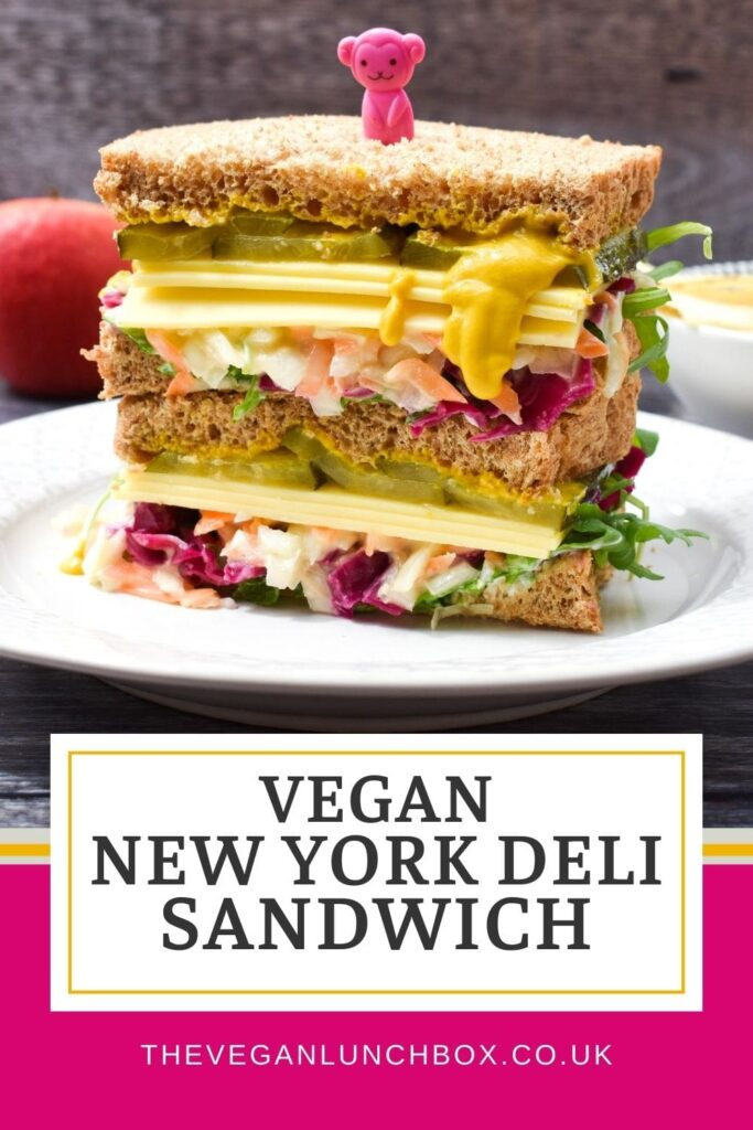 An amazingly tasty vegan New York Deli Sandwich. A sandwich once tried, never forgotten. Try this easy recipe this week for a superior lunch.