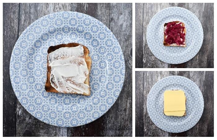 Vegan Reuben Sandwich - Step 1