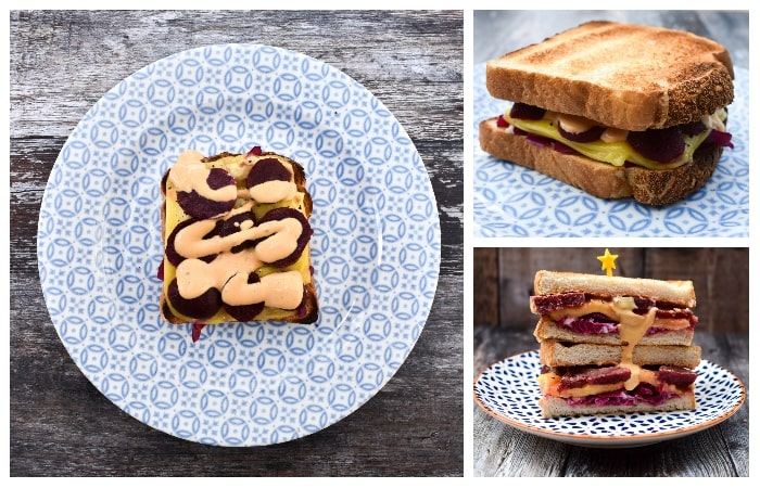 Vegan Reuben Sandwich - Step 3