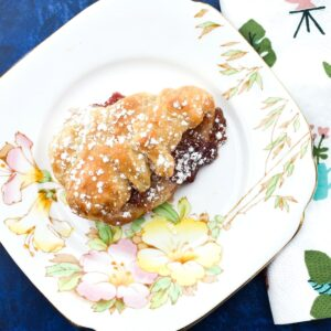 Easy Vegan Cheat's Danish Pastries made with Puff Pastry