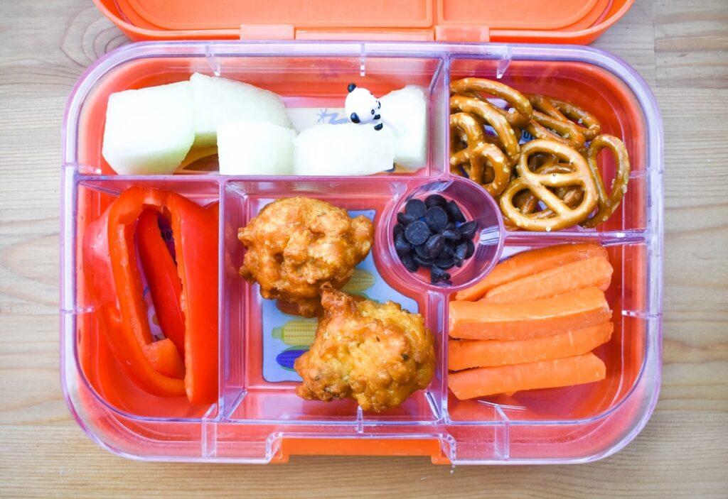 Vegan bento style lunch box