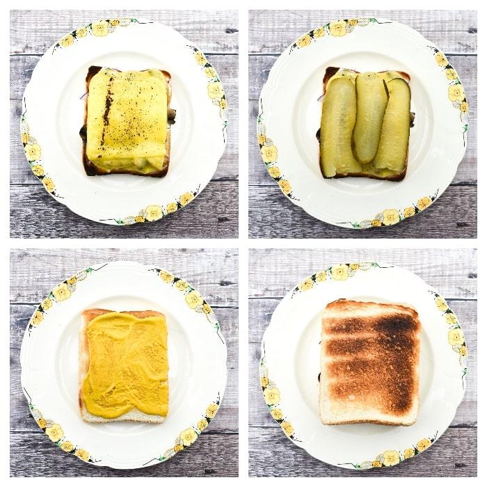 Vegan Cuban Sandwich - Step 2