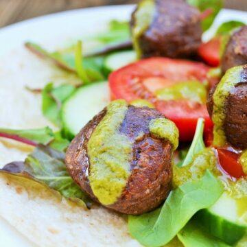Kidney Bean Falafel
