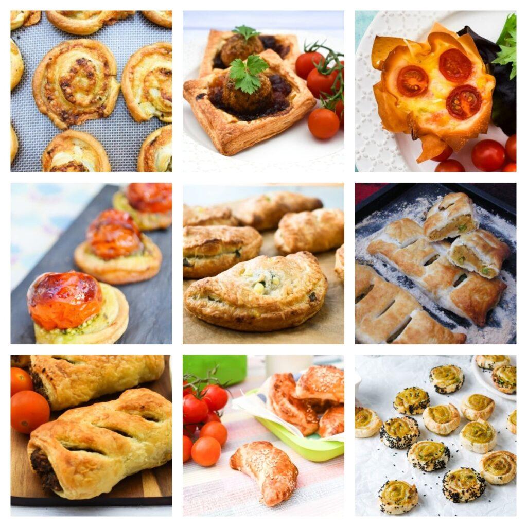 Vegan Pastry Lunch Snacks