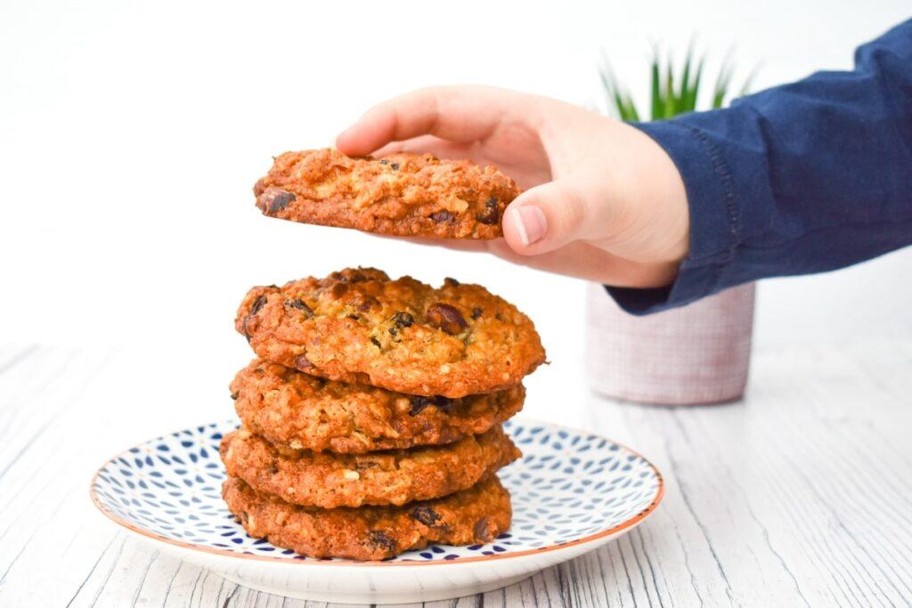 after school vegan cookies