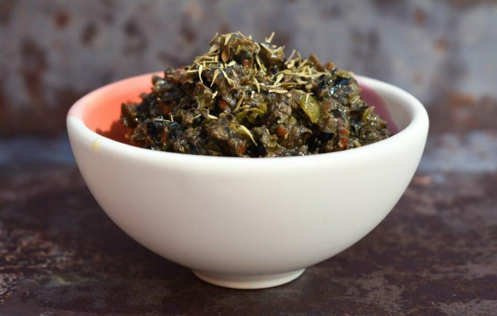 Vegan Black Olive Tapenade