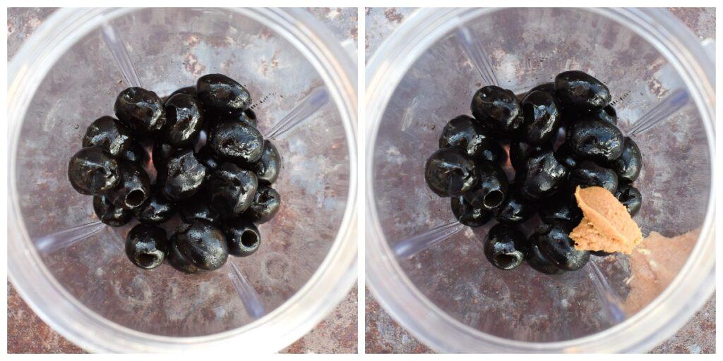 olive tapenade - step 1