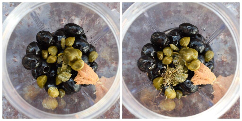 olive tapenade - step 2
