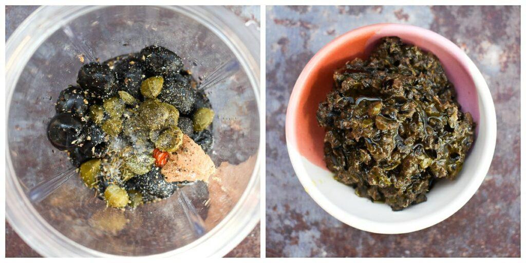 olive tapenade - step 3